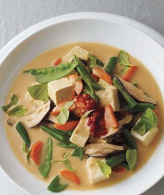 Thai Curry Vegetable and Tofu Soup