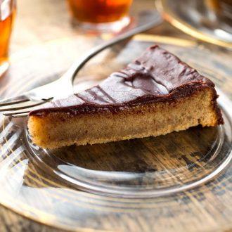 Chocolate-Covered Almond  Cake