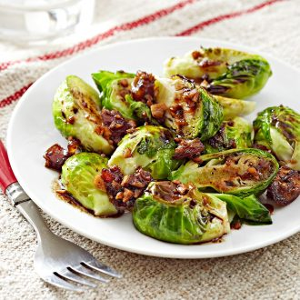 Date & Balsamic Glazed Brussel Sprouts