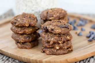 Vegan Pumpkin Oatmeal Cookies