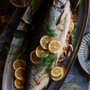 Fennel & Meyer Lemon Stuffed Salmon
