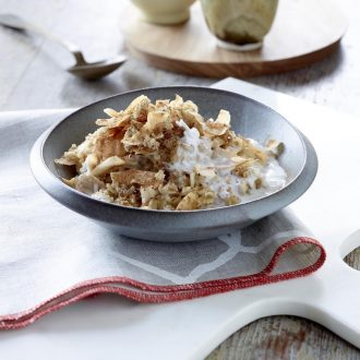 Coconut Chai Spiced Oatmeal